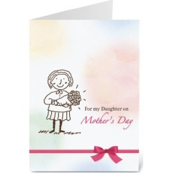 To My Daughter… Mother's Day Card