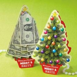 Christmas Money Tree Cash Card