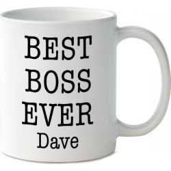 Best Boss Ever Personalized Mug
