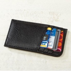 Black Scan-Safe Card Case