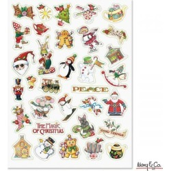 Mary Engelbreit ® Holiday Stickers found on Bargain Bro Philippines from currentcatalog.com for $4.00