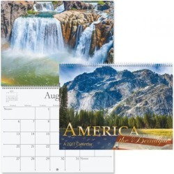 2017 America the Beautiful Calendar found on Bargain Bro Philippines from currentcatalog.com for $7.49