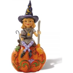 Witch on Pumpkin Figurine by Jim Shore found on Bargain Bro India from currentcatalog.com for $24.99