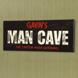 Man Cave Canvas Print