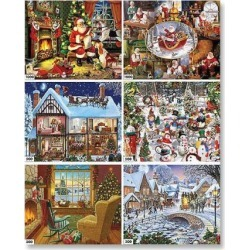 6-in-1 Holiday Puzzles