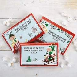 Holiday Personalized Popcorn Sleeves found on Bargain Bro from currentcatalog.com for USD $5.31