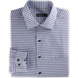 Big & Tall Rochester Grid Dress Shirt found on MODAPINS from Destination XL for USD $89.50