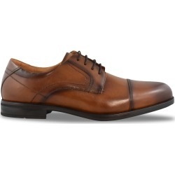 Florsheim Men's Midtown Oxford Shoes in Brown, Size 8 Extra Wide