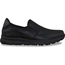 Skechers Women's Nampa - Annod Slip-On Sneaker Shoes in Black, Size 7 Medium found on Bargain Bro India from ts.townshoes.ca for $47.14