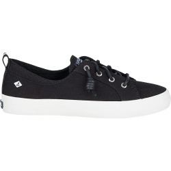 Sperry Women's Crest Vibe Sneaker Shoes in Black, Size 7 Medium found on Bargain Bro India from ts.townshoes.ca for $61.57