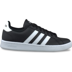 Adidas Men's Grand Court Sneaker Shoes in Core Black/Cloud White, Size 12 Medium found on Bargain Bro Philippines from ts.townshoes.ca for $71.00