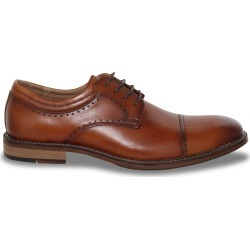 Stacy Adams Men's Flemming Oxford Shoes in Brown Leather, Size 12 Medium found on Bargain Bro India from ts.townshoes.ca for $98.14