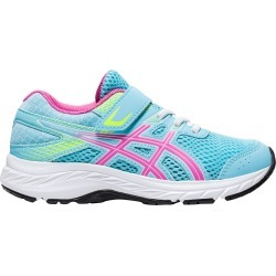 Asics Youth Girl Contend 6 Sneaker Shoes in Blue, Size 13 Medium found on MODAPINS from ts.townshoes.ca for USD $53.10