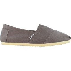 Toms Women's Classic Slip-On Shoes in Grey, Size 9 Medium