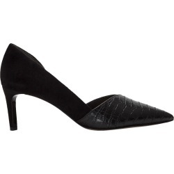 Franco Sarto Women's Janine D'orsay Pump Shoes in Black Croc Leather, Size 8.5 Medium found on Bargain Bro Philippines from ts.townshoes.ca for $91.40