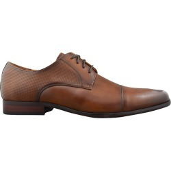 Florsheim Men's Scottdale Oxford Shoes in Brown Leather, Size 9.5 Medium