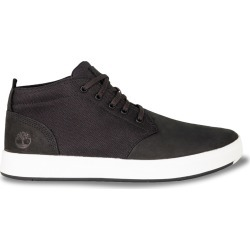 Timberland Men's Davis Square Chukka Sneaker Boot - Medium Width in Black/White, Size 8 found on Bargain Bro India from ts.townshoes.ca for $78.50