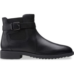 Clarks Women's Griffin North Boot in Black Leather, Size 6 Medium found on Bargain Bro Philippines from ts.townshoes.ca for $101.68
