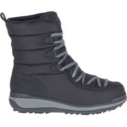Merrell Women's Snowcreek Cozy Polar Waterproof Winter Boot in Black, Size 6 Medium found on Bargain Bro from ts.townshoes.ca for USD $90.49