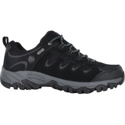Merrell Men's Ridgepass Hiker Shoes in Black, Size 7 Wide found on Bargain Bro Philippines from ts.townshoes.ca for $90.52