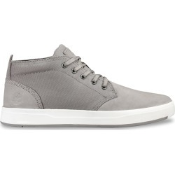 Timberland Men's Davis Square Chukka Sneaker Shoes in Grey Leather, Size 8 Medium found on Bargain Bro India from ts.townshoes.ca for $76.17