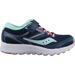 Saucony Youth Girl's Cohesion 12 Sneaker Shoes in Blue Medium found on Bargain Bro India from ts.townshoes.ca for $43.52