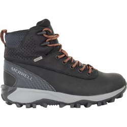 Merrell Women's Thermo Kiruna Hiker Shoes in Black Leather, Size 7 Medium found on Bargain Bro Philippines from ts.townshoes.ca for $128.24
