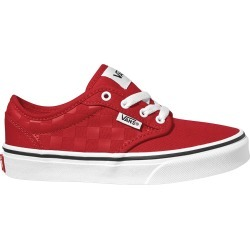 Vans Youth Boy's Atwood Sneaker Shoes in Red/White, Size 7 Medium found on Bargain Bro Philippines from ts.townshoes.ca for $41.89