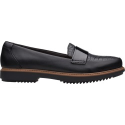 Clarks Women's Raisie Arlie Loafer Shoes in Black, Size 9 Wide found on Bargain Bro India from ts.townshoes.ca for $76.97
