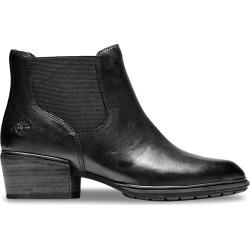 Timberland Women's Sutherlin Bay Low Chelsea Boot in Black, Size 8 Medium found on Bargain Bro India from ts.townshoes.ca for $125.62