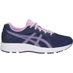 Asics Youth Girl's Jolt 2 Gs Shoes in Blue/Purple, Size 5 Medium