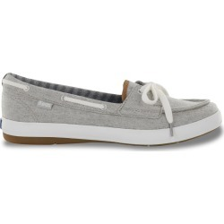 Keds Women's Charter Boat Shoes in Grey, Size 9 Medium