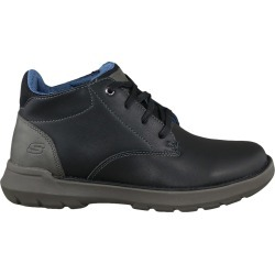 Skechers Men's Doveno Boot in Black Leather, Size 13 Medium found on Bargain Bro Philippines from ts.townshoes.ca for $82.97