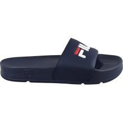 Fila Youth Boy's Drifter Slide Sandals in Navy Blue/Red/White, Size 6 Medium found on MODAPINS from ts.townshoes.ca for USD $26.30