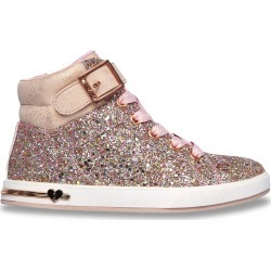 Skechers Youth Girl's Shoutouts Sparkle On Top Sneaker Shoes in Rose Gold, Size 2 Medium found on Bargain Bro Philippines from ts.townshoes.ca for $59.56