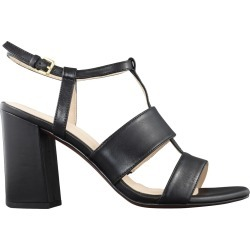Cole Haan Women's Cherie Grand Sandal in Black Leather, Size 9 Medium