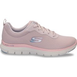 Skechers Women's Flex Appeal 4.0 Brilliant View Sneaker Shoes in Rose, Size 6.5 Medium found on Bargain Bro Philippines from ts.townshoes.ca for $63.53