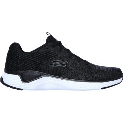 Skechers Men's Solar Fuse Sneaker Shoes in Black/White, Size 10.5 Medium found on Bargain Bro India from ts.townshoes.ca for $70.71