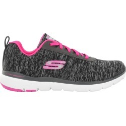 Skechers Women's Flex Appeal 3.0 Sneaker Shoes in Black, Size 8 Medium found on Bargain Bro India from ts.townshoes.ca for $60.77