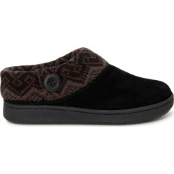 Clarks Women's Sweater Collar Slipper in Black, Size 7 Medium found on Bargain Bro Philippines from ts.townshoes.ca for $46.93