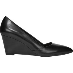 Franco Sarto Women's Frankie Wedge Shoes in Black, Size 8 Medium found on Bargain Bro Philippines from ts.townshoes.ca for $68.55