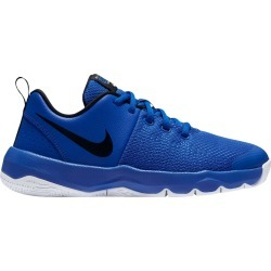 Nike Youth Boy's Team Hustle Quick Sneaker Shoes in Blue, Size 4 Medium found on Bargain Bro Philippines from ts.townshoes.ca for $49.13