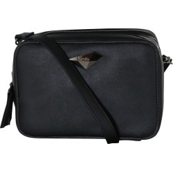 Kensie Women's Camera Crossbody in Black
