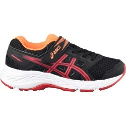 Asics Youth Boy's Gel Contend 5 Runner Shoes in Black, Size 13 Medium