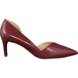 Franco Sarto Women's Janine D'orsay Pump Shoes in Burgundy Leather, Size 6.5 Medium found on Bargain Bro Philippines from ts.townshoes.ca for $76.16