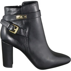 Ralph Lauren Women's Ainsilie Bootie in Black Leather, Size 10 Medium found on Bargain Bro Philippines from ts.townshoes.ca for $98.58