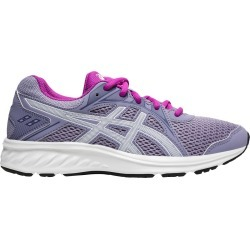 Asics Youth Girl's Jolt 2 Gs Sneaker Shoes in Grey, Size 4.5 Medium