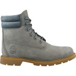 Timberland Women's Linden Woods Waterproof Boot in Grey Nubuck, Size 6 Medium found on Bargain Bro India from ts.townshoes.ca for $121.87