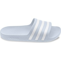 Adidas Women's Adilette Aqua Slide Sandal in Halo Blue/Cloud White, Size 6 Medium found on Bargain Bro Philippines from ts.townshoes.ca for $23.66