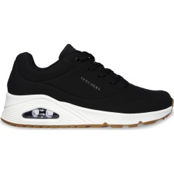 Skechers Women's Uno - Stand On Air Sneaker Shoes in Black, Size 9 Medium found on Bargain Bro India from ts.townshoes.ca for $64.34